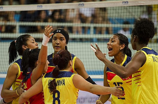 Colombia edge Venezuela on opening day of South American Olympic Volleyball Qualification Tournament