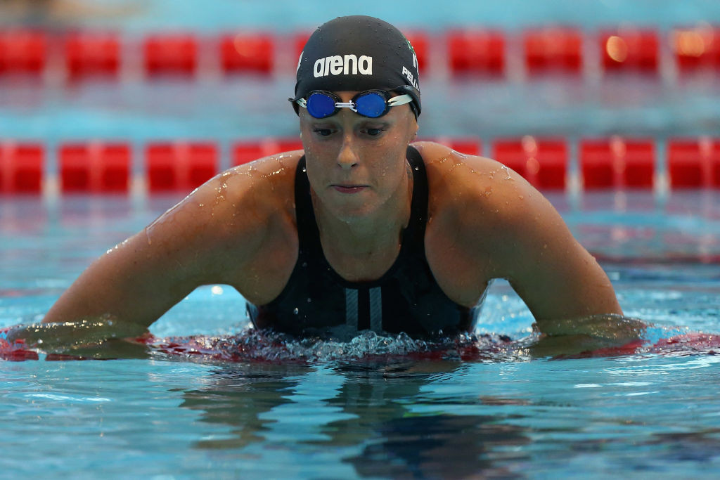 Federica Pellegrini had already been in isolation after testing positive for COVID-19 ©Getty Images