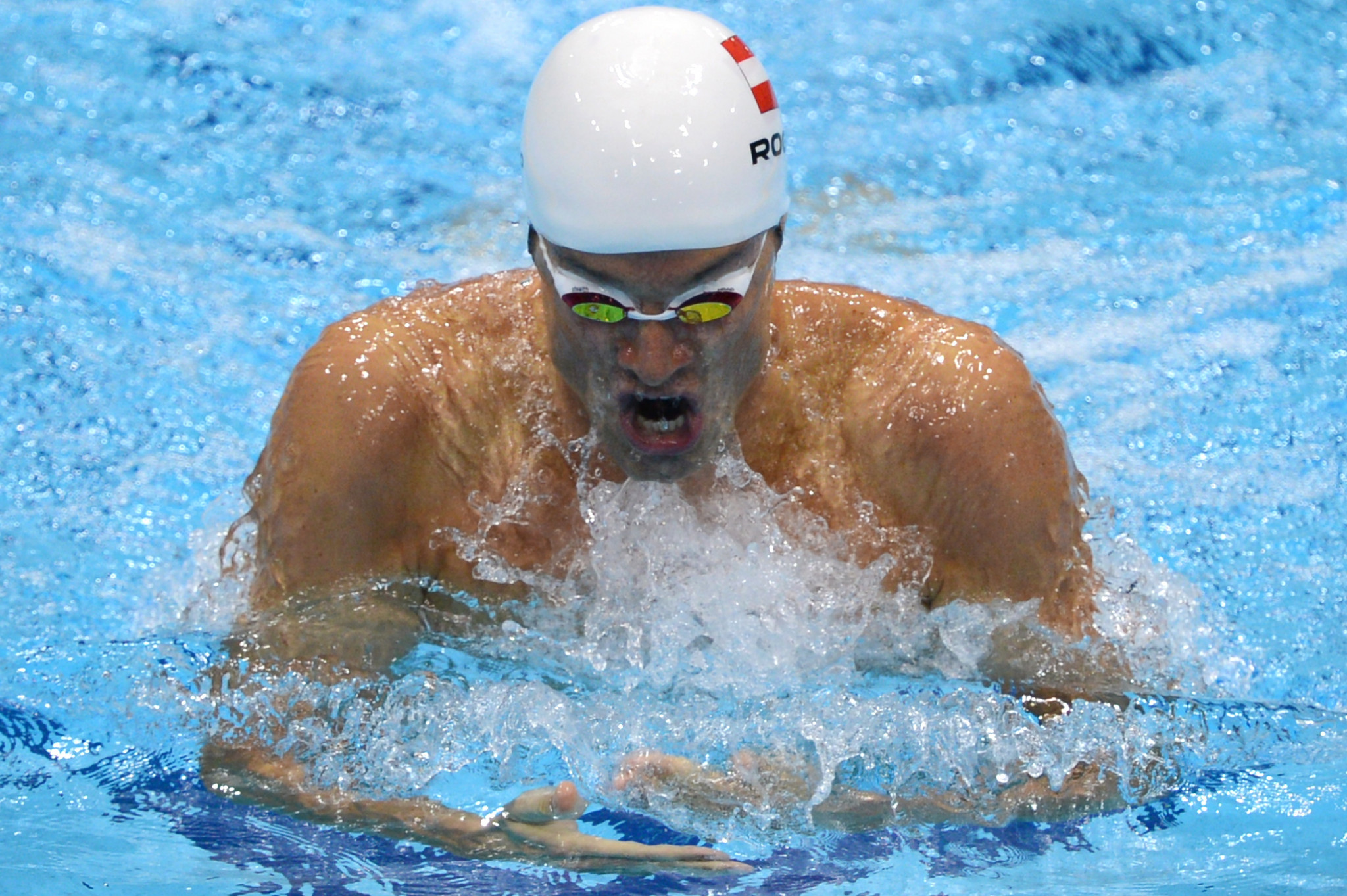 Olympic swimming medallist Rogan reportedly leaves Israel despite positive COVID-19 test