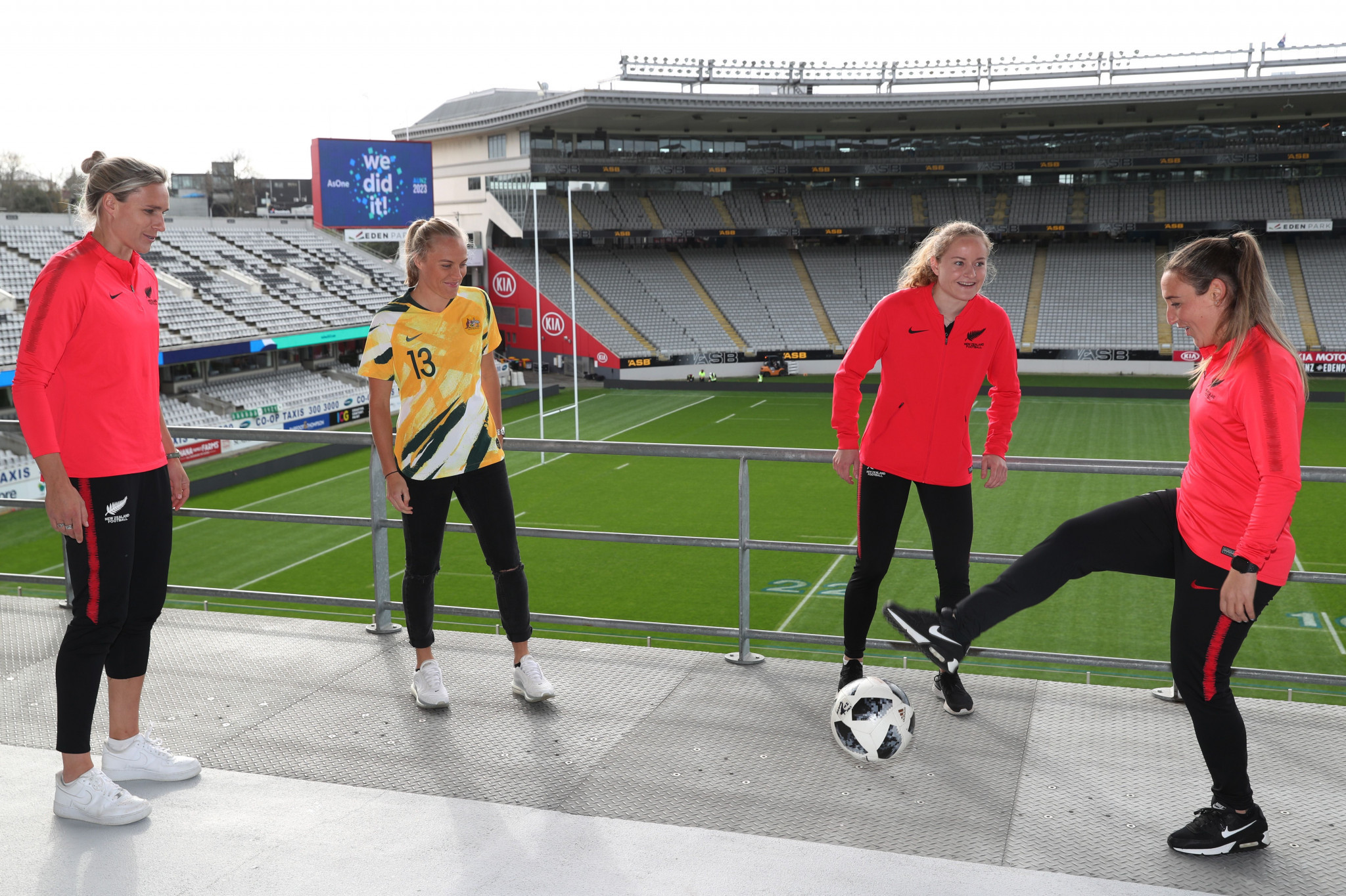 The opening game of the 2023 FIFA Women's World Cup is expected to take place in Auckland's 50,000-seat Eden Park ©Getty Images