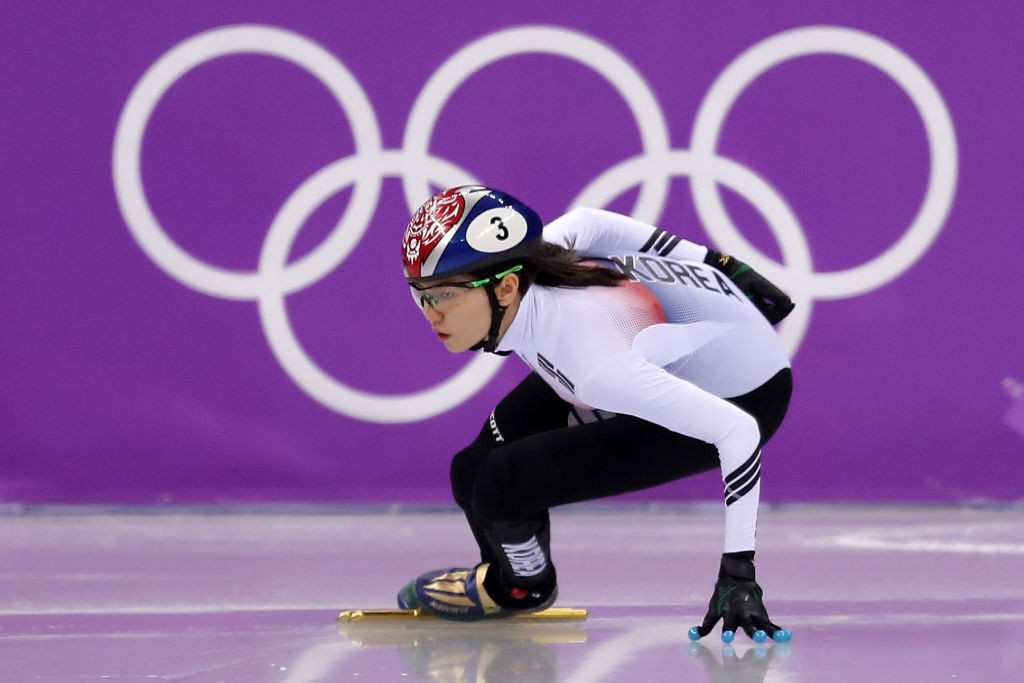 Shim Suk-hee won Olympic gold at Pyeongchang 2018, which came only weeks after Cho's history of alleged sexual abuse emerged ©Getty Images