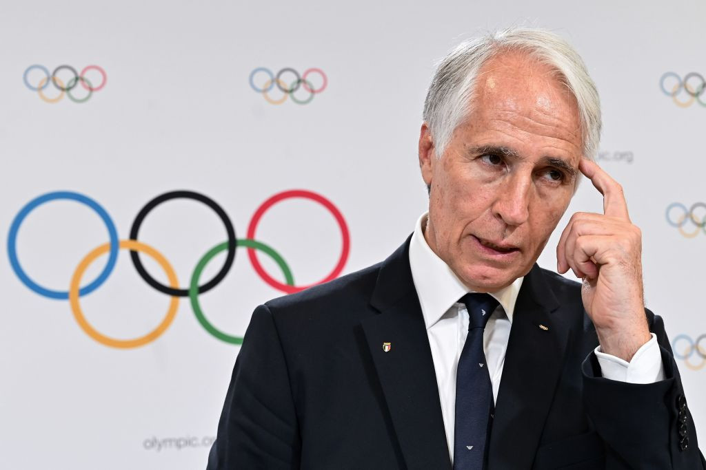 Milan Cortina 2026 President Giovanni Malagò welcomed the Memoranda of Understanding with the regional branches ©Getty Images