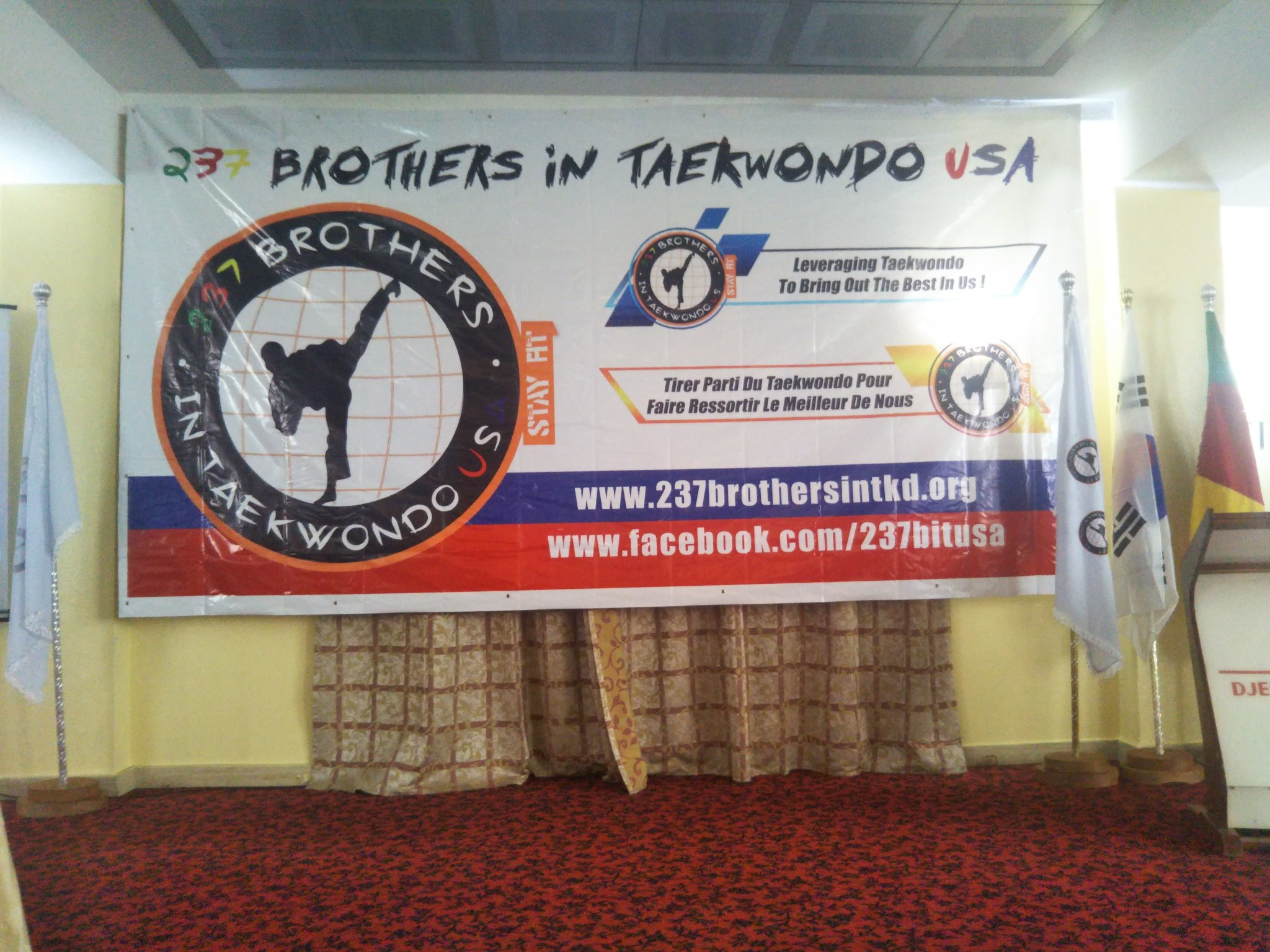 The meeting organised by the 237 Brothers in Taekwondo USA was held at the start of October ©Twitter/MyriamZouga