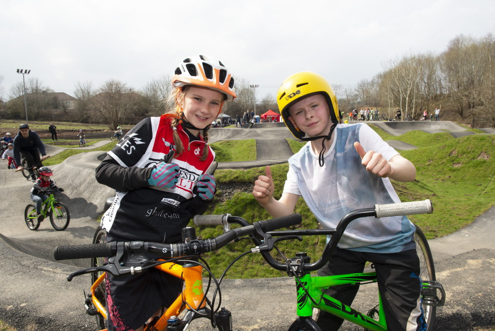 Cycling infrastructure in Scotland is set to be upgraded ©sportscotland