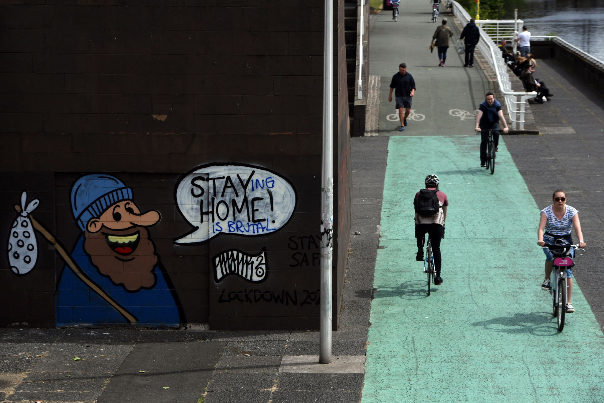 Many of Glasgow's cycle paths are due to be improved before 2023 ©Getty Images
