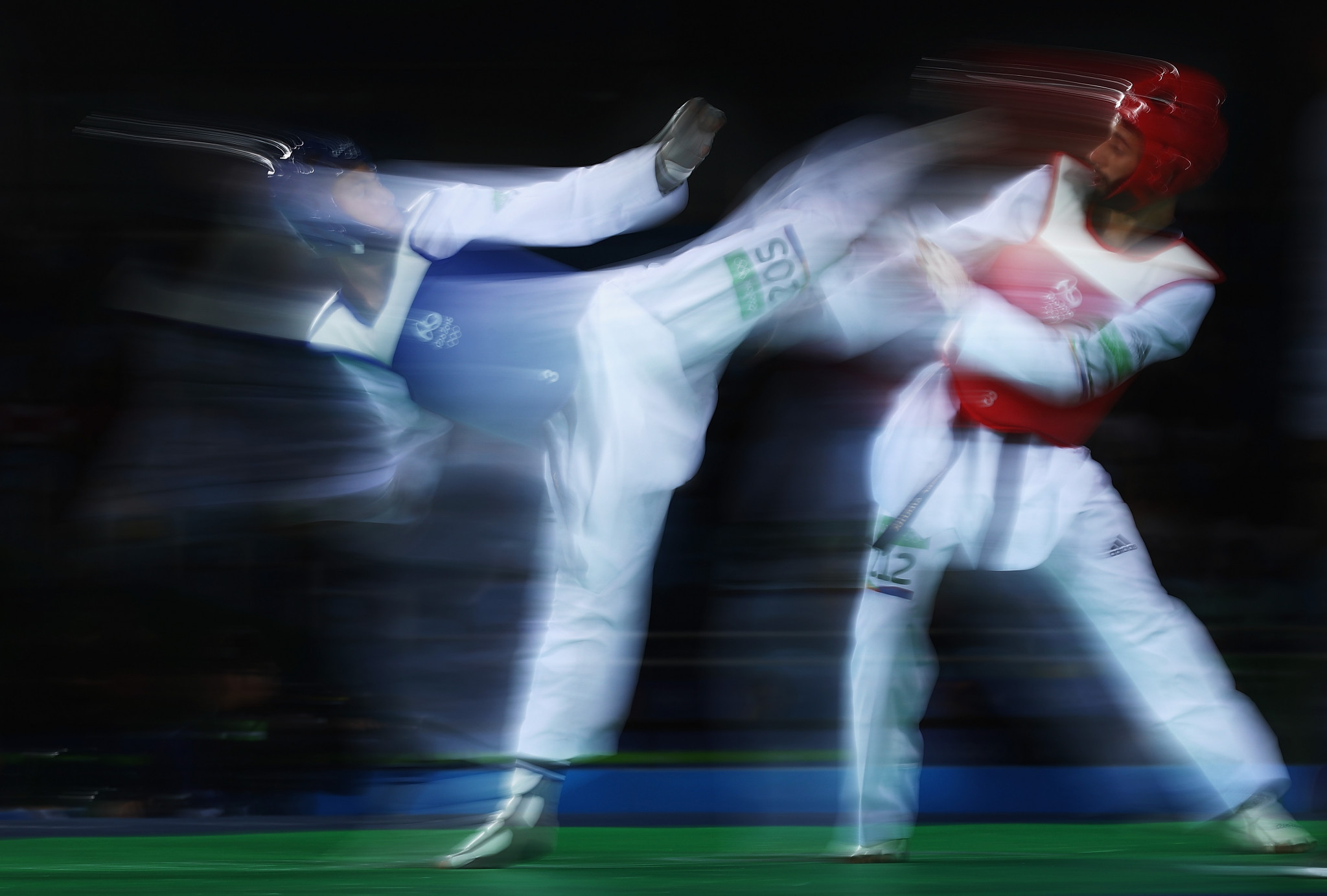 No Cameroonian taekwondo player has ever reached the Olympic Games ©Getty Images