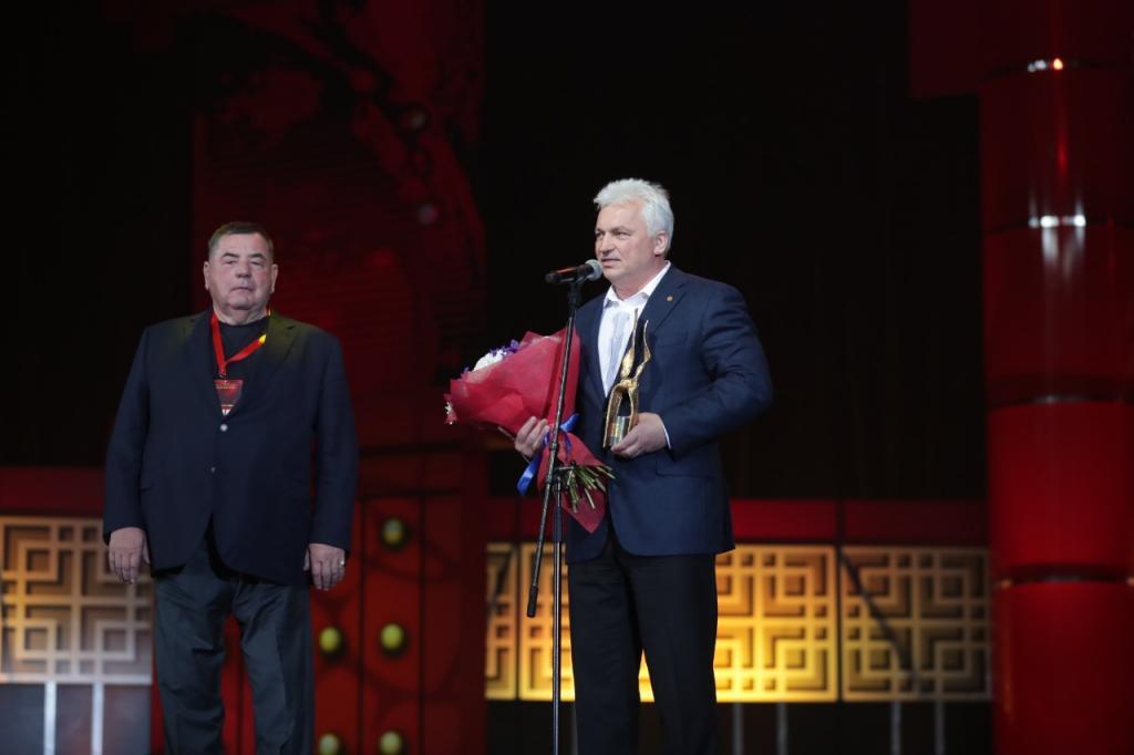 International Sambo Federation vice-president honoured with golden belt award