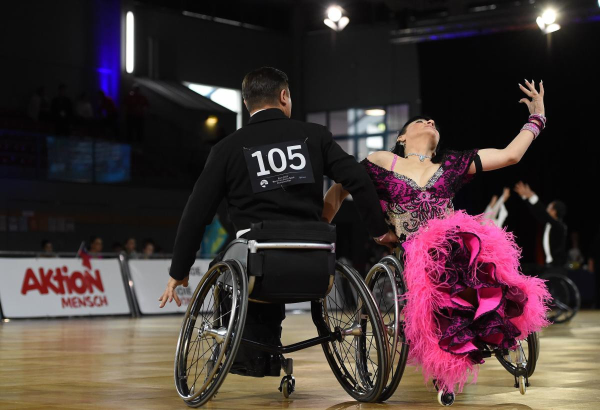 Italy has never hosted the European Championships before but Rome staged the World Championships in 2015 ©World Para Dance Sport