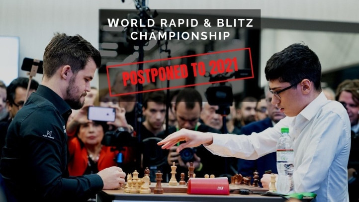 FIDE postpones World Rapid and Blitz Chess Championship to next year