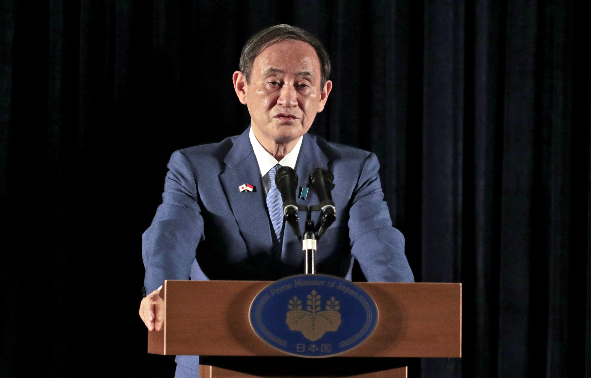 Japanese Prime Minister Suga to repeat pledge to hold Tokyo 2020 in upcoming policy speech