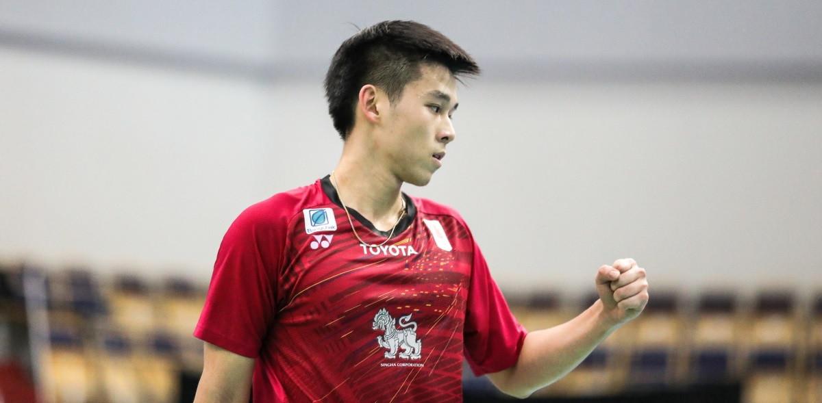 Kunlavut Vitidsarn of Thailand has won the past three men's singles titles at the BWF World Junior Championships ©BWF