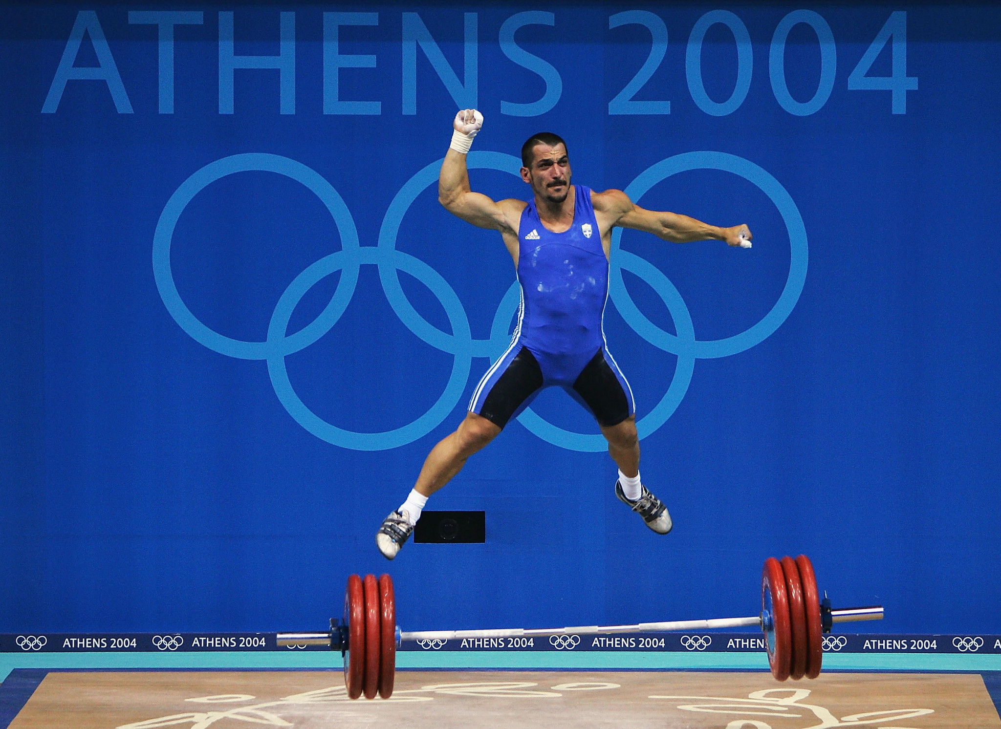 Greek weightlifting hero Pyrros Dimas has opted against resigning from the IWF Executive Board ©Getty Images