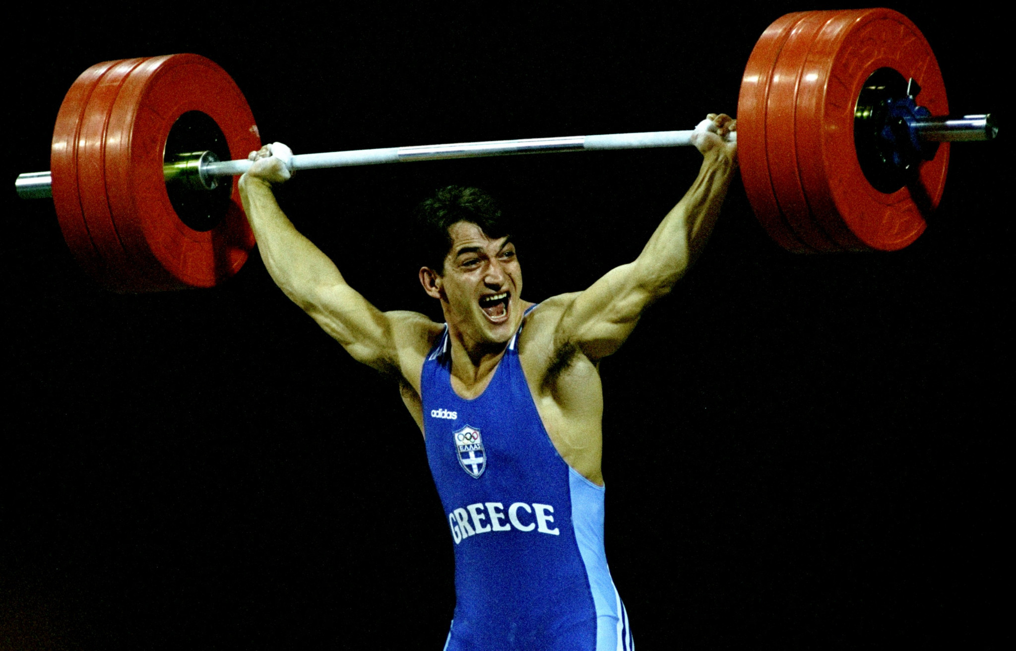 Pyrros Dimas won three Olympic gold medals for Greece ©Getty Images