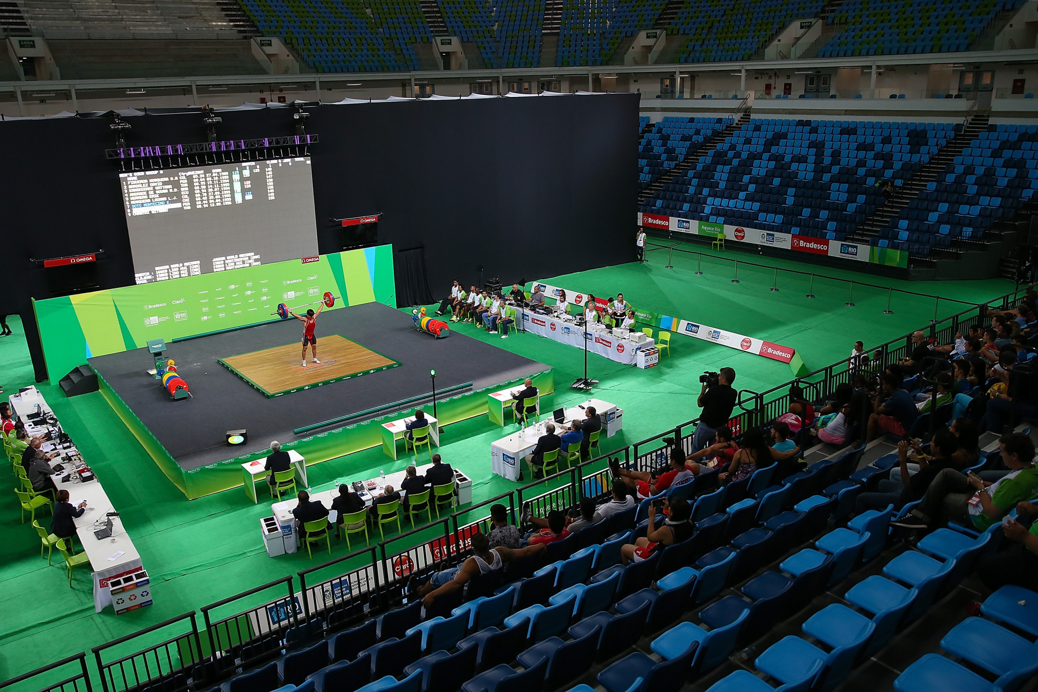 Operation Arrow investigated urine substitution in weightlifting ©Getty Images