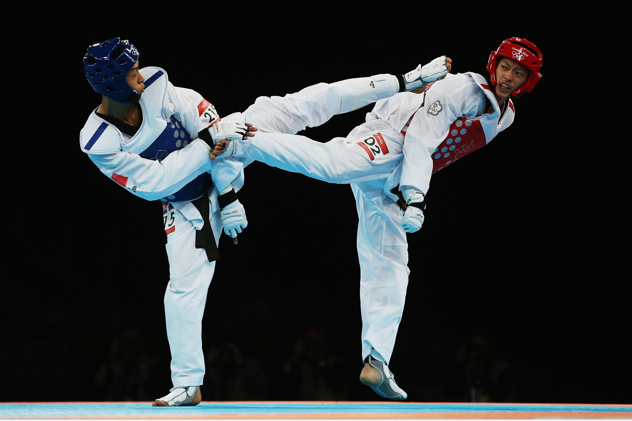 Wei Chen-yang competed at the London 2012 Olympic Games ©Getty Images