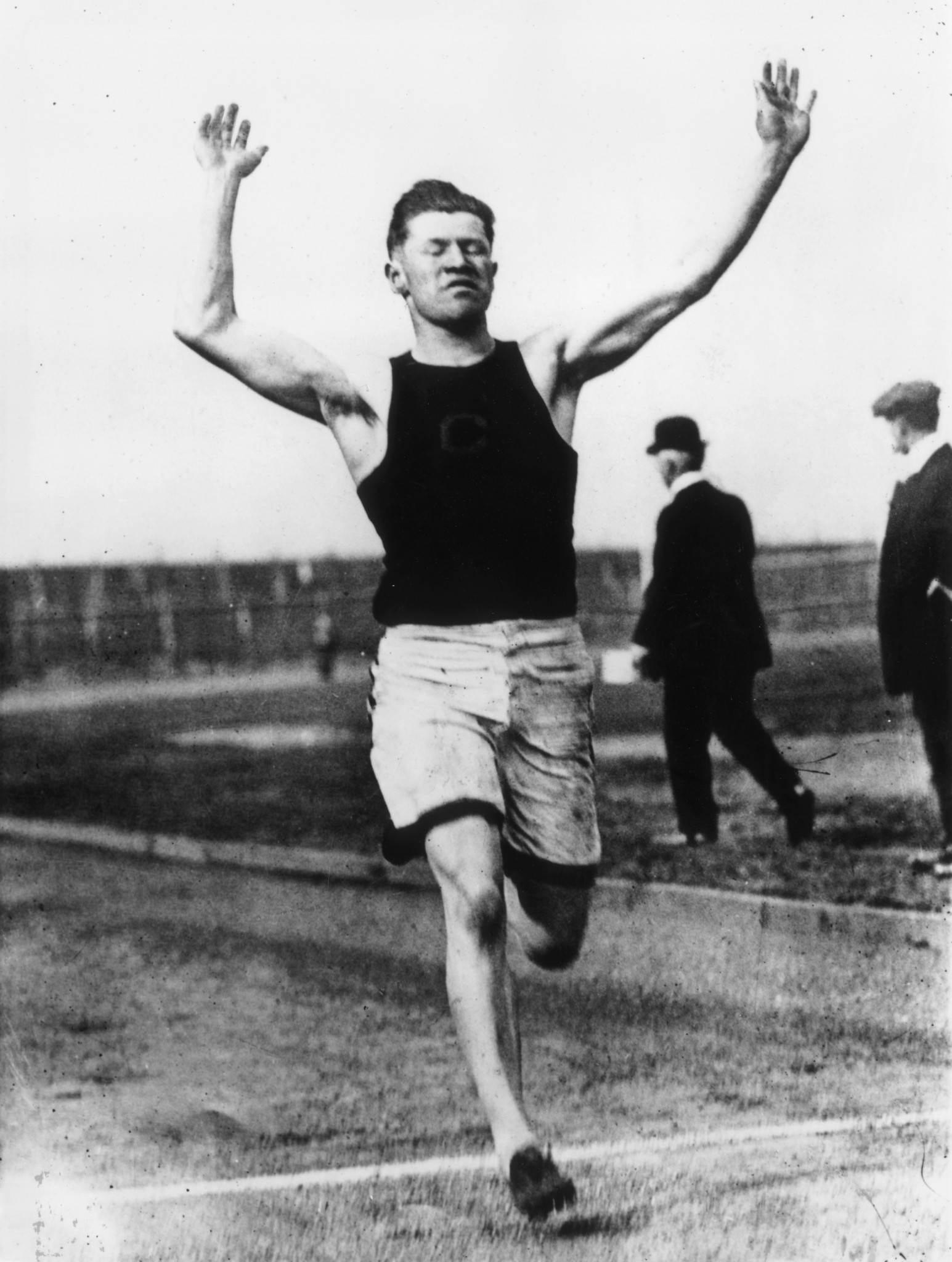 Jim Thorpe won Olympic gold medals in decathlon and pentathlon in 1912 ©Getty Images