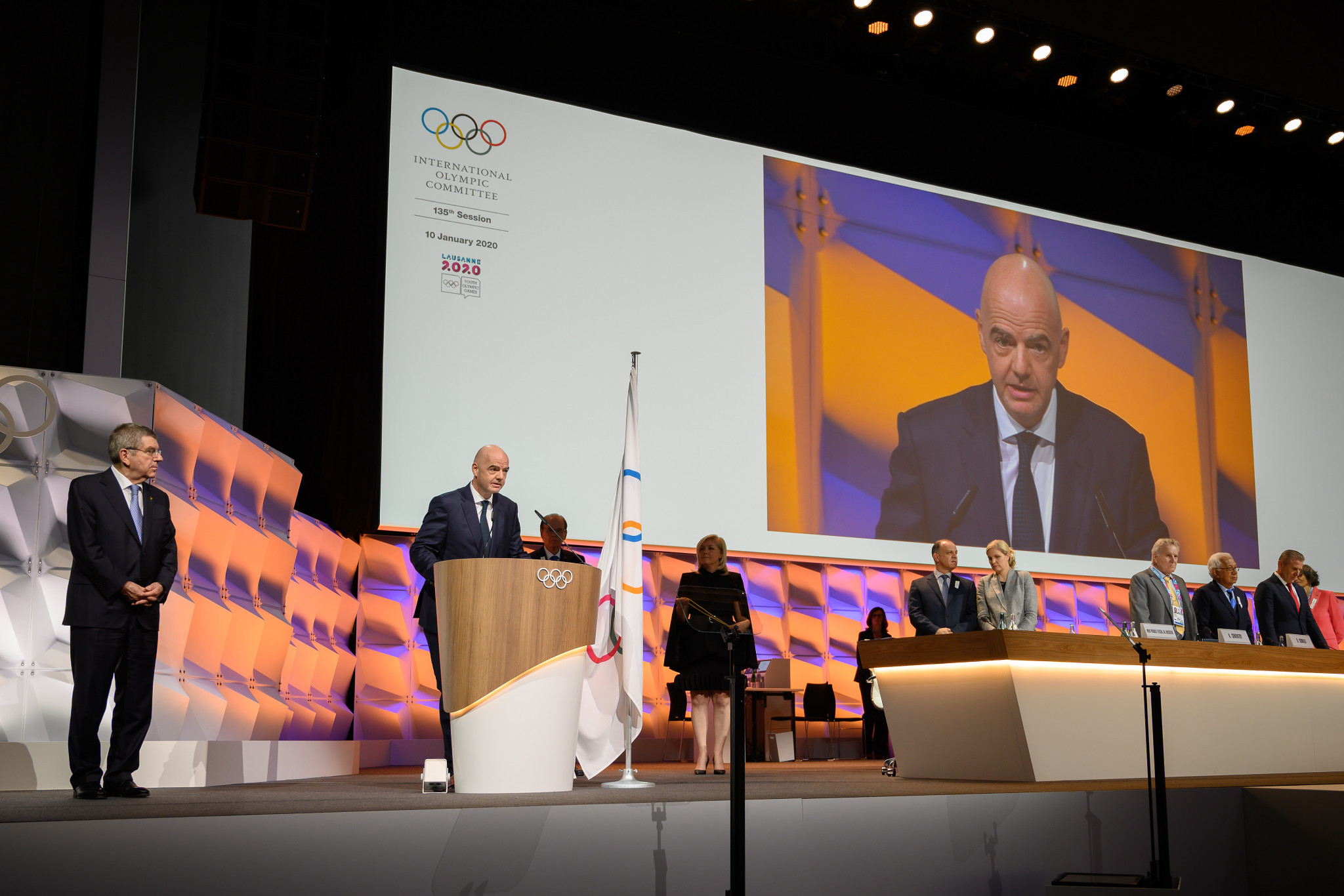 New IOC members are elected at Sessions ©Getty Images
