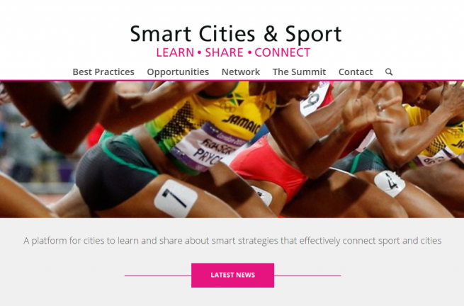 The goal of the new online platform is to become the meeting point and reference for all cities around the world interested in developing smart strategies that connect sport and cities