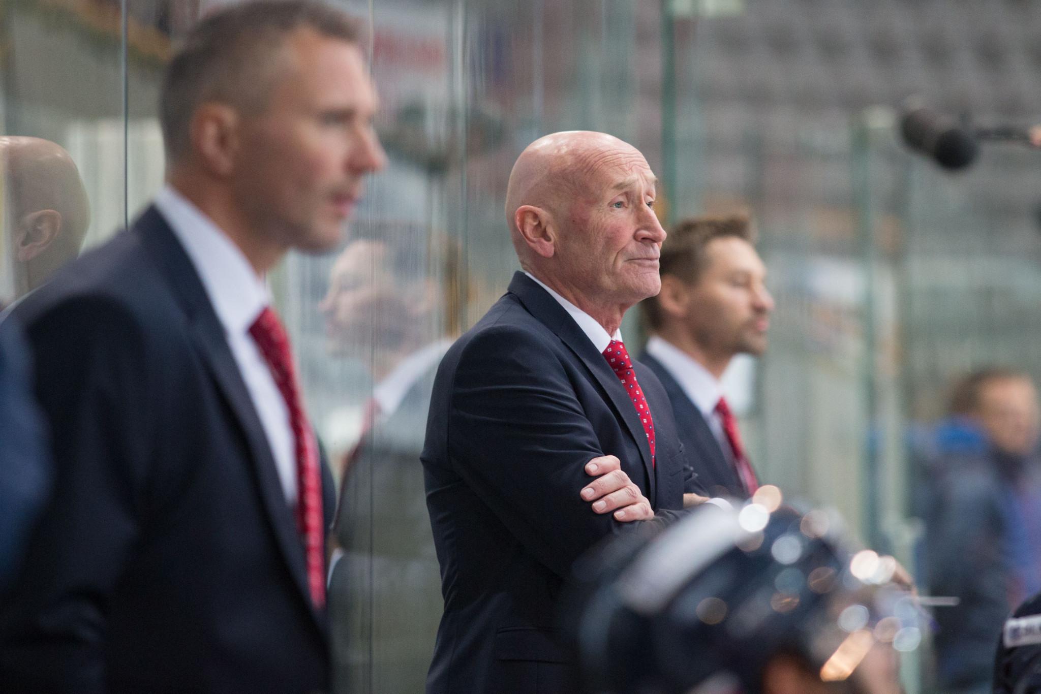 Ramsay extends contract as Slovakia's men's ice hockey head coach