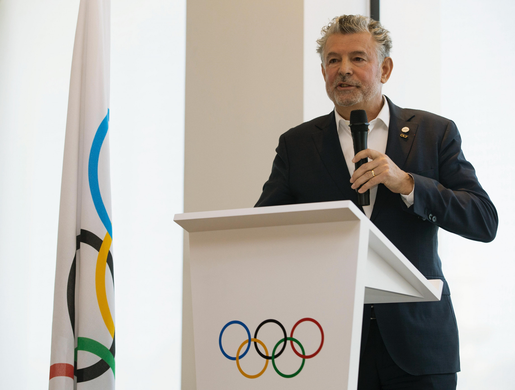 Bouzou re-elected for third term as President of World Olympians Association