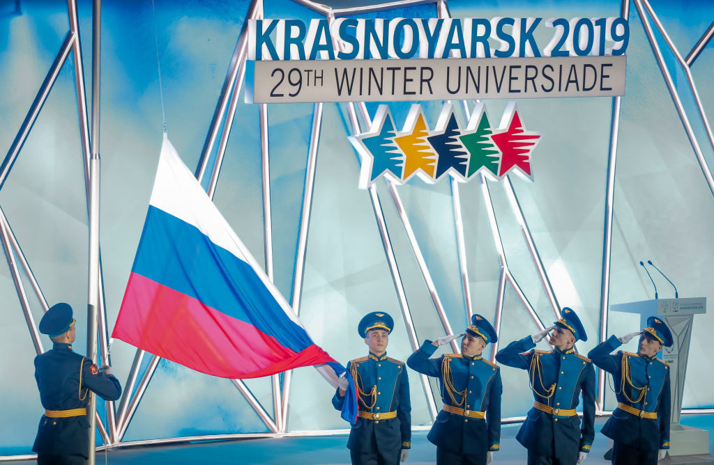 Russia hosted the 2019 Winter Universiade ©Getty Images