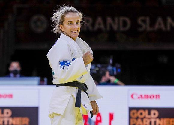 Russian men dominate as Budapest Grand Slam marks judo's return