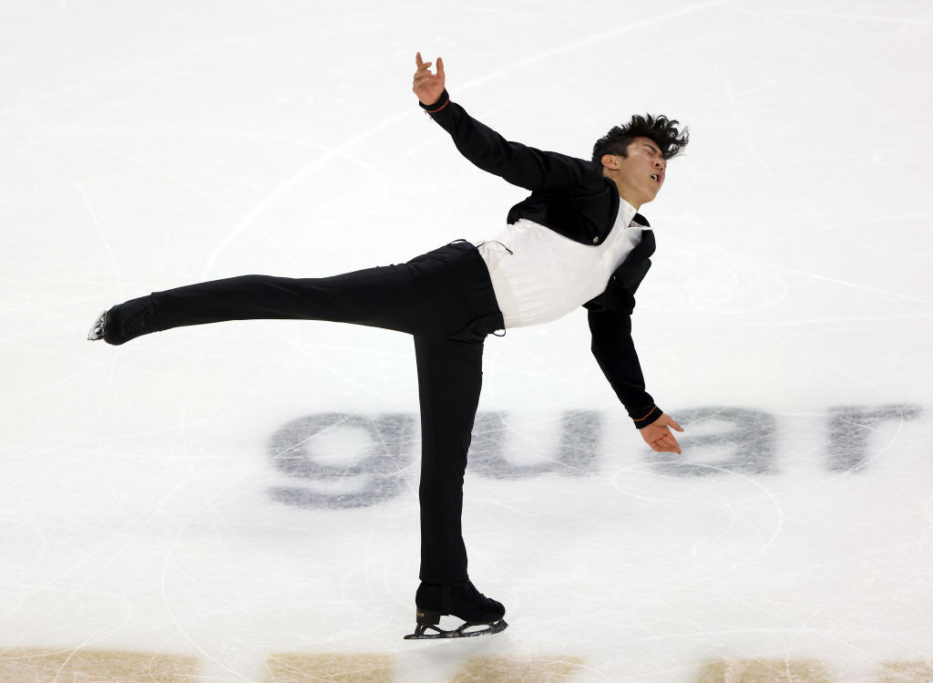 Chen leads after short programme at Skate America as figure skating season begins