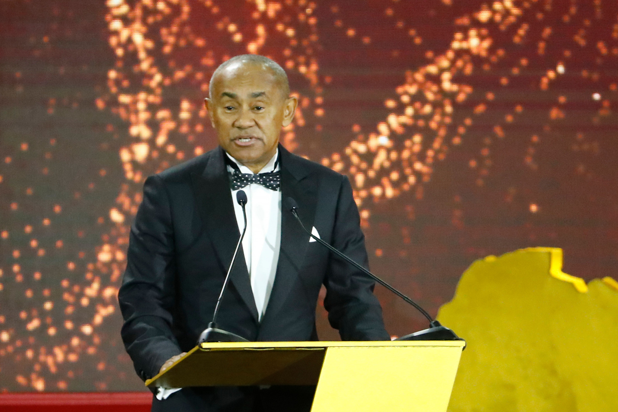 Ahmad backed by African football associations to stand for re-election as CAF President