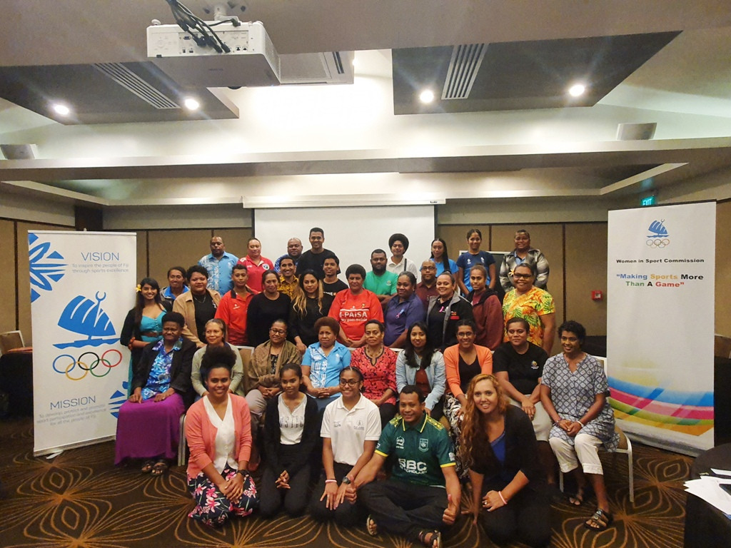 More than 30 officials participated in the workshop in Suva ©FASANOC