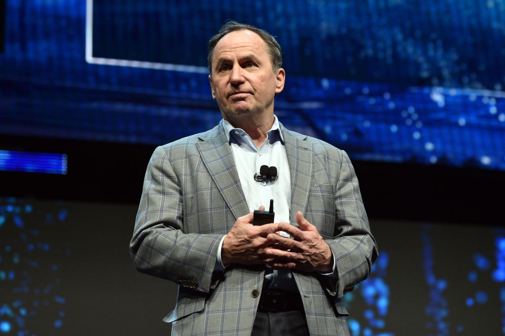 Intel chief executive Bob Swan said the company was confident in its strategy during the pandemic ©Getty Images