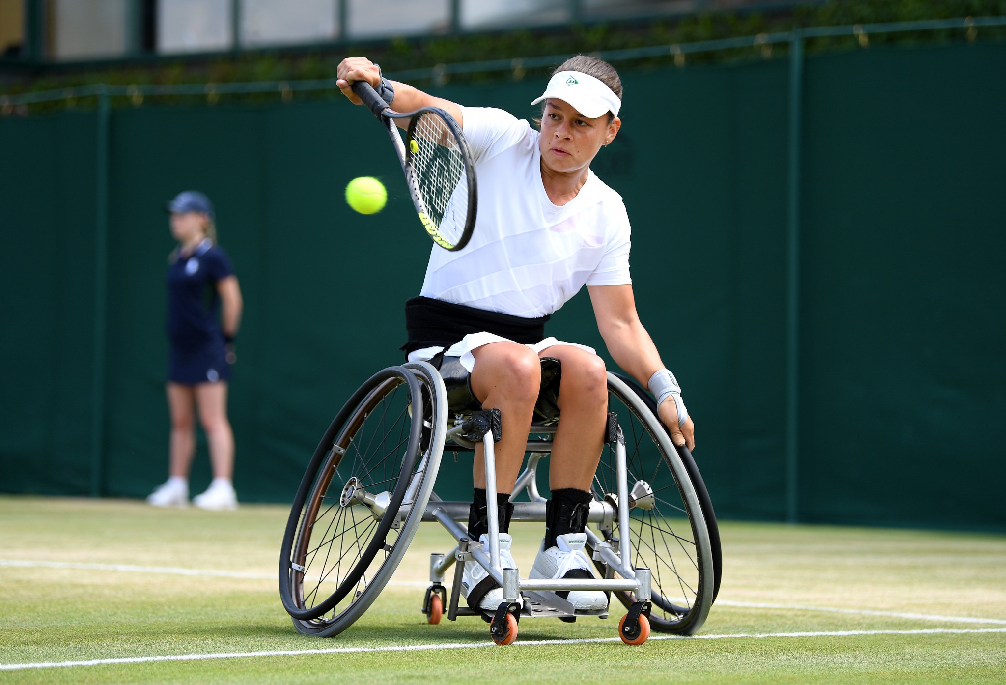 Former Paralympic and Grand Slam champion Buis retires from wheelchair tennis