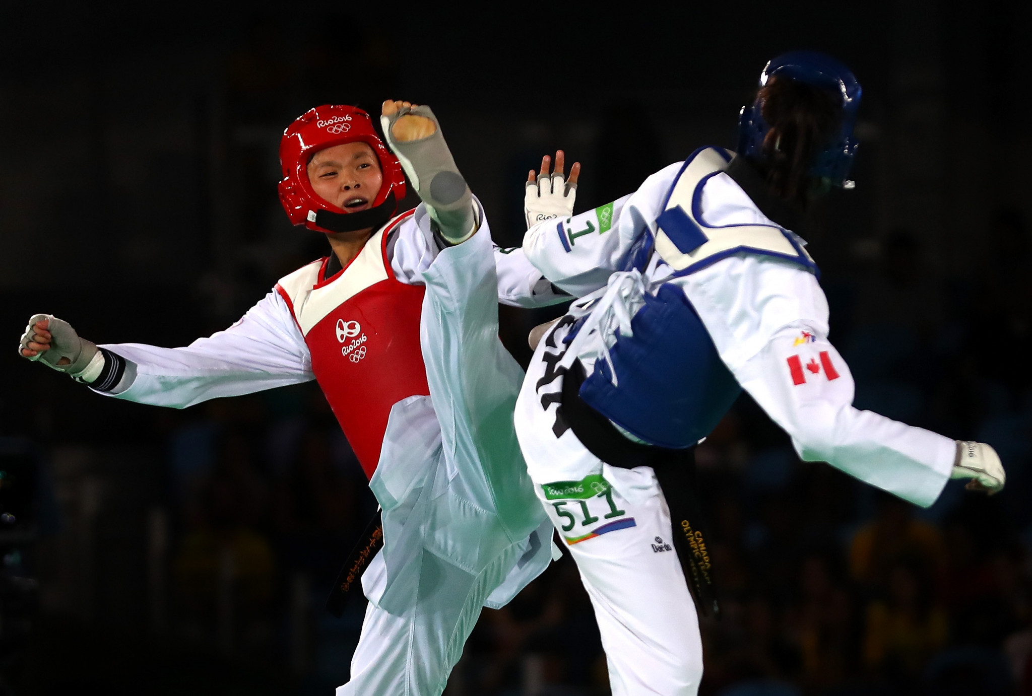 Shin Wook Lim was an official coach for Taekwondo Canada at two Olympics  ©Getty Images