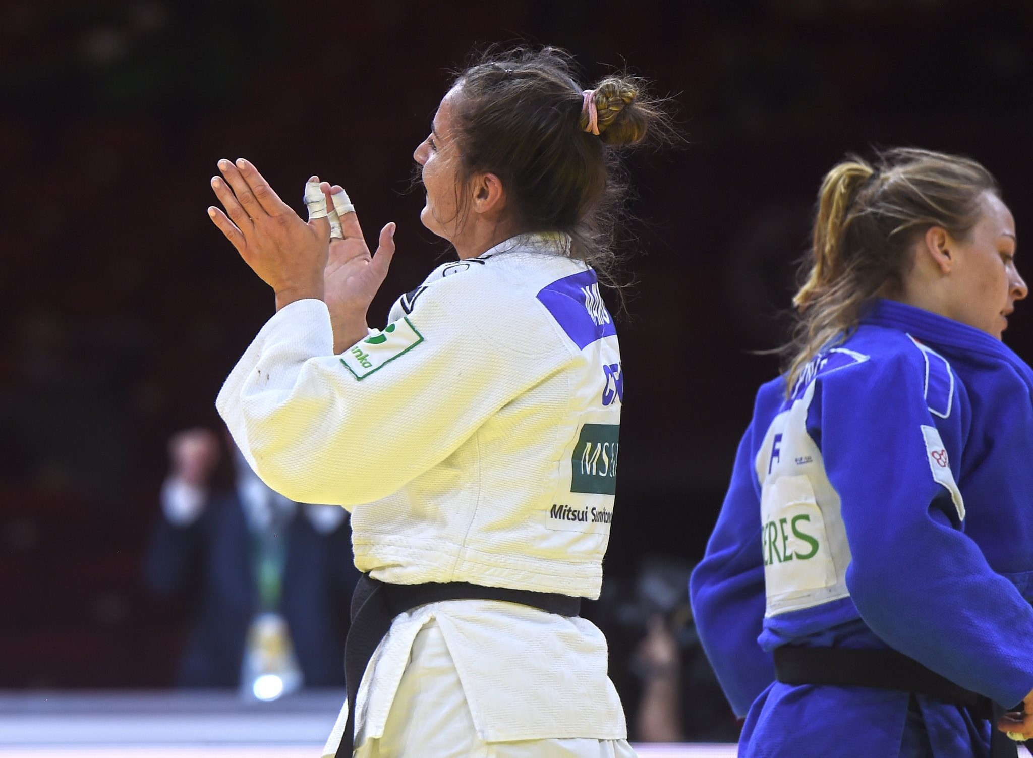 Barbara Matić beat three of the four medalists at last years World Championship to secure the women's under-70kg title ©IJF