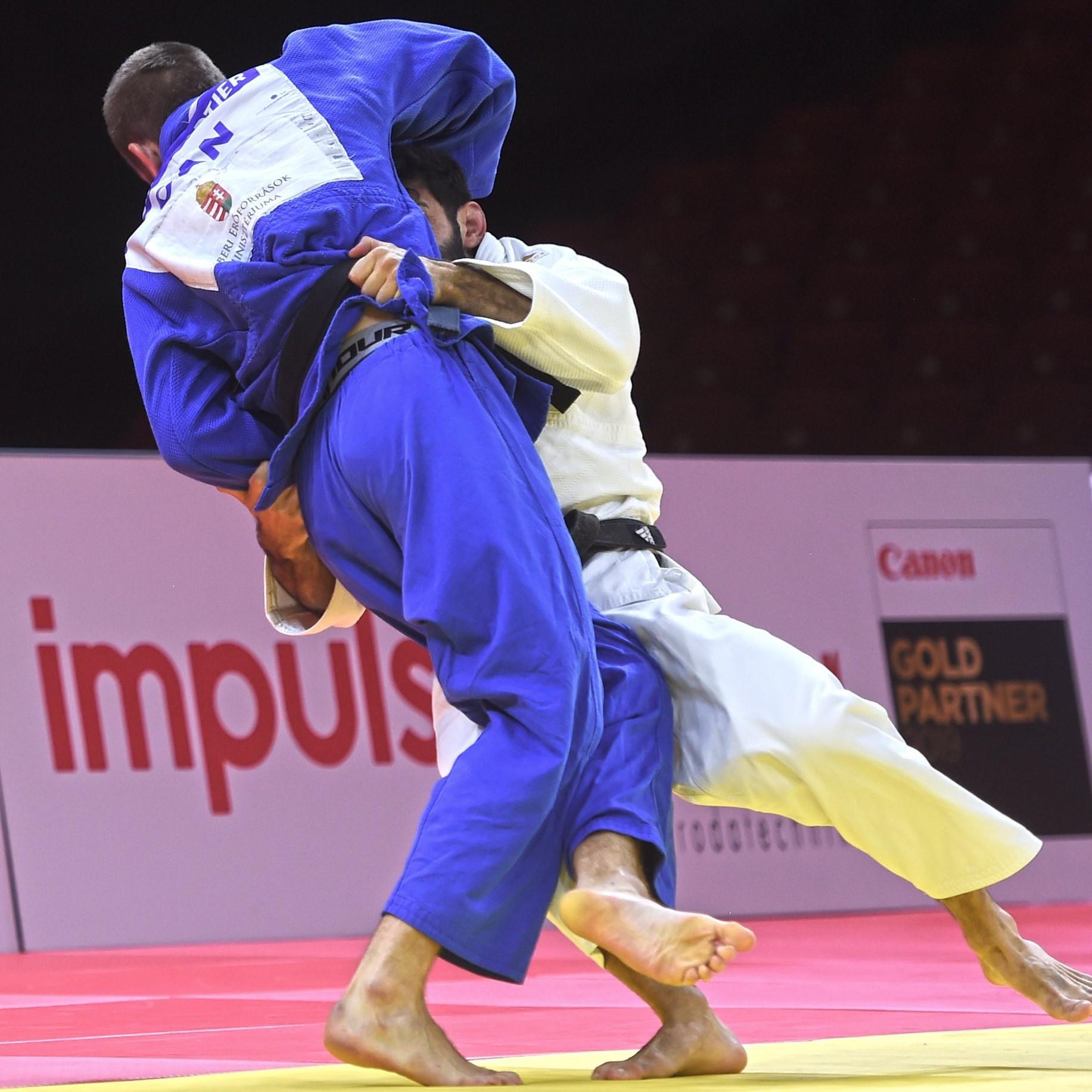 Matić knocks out world champion Gahié en route to Budapest Grand Slam title
