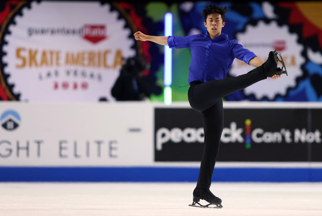 Nathan Chen outclassed the rest of the field to take gold at Skate America ©Getty Images