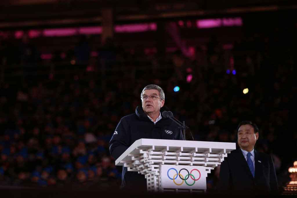 Thomas Bach will not travel to accept the Seoul Peace Prize ©Getty Images