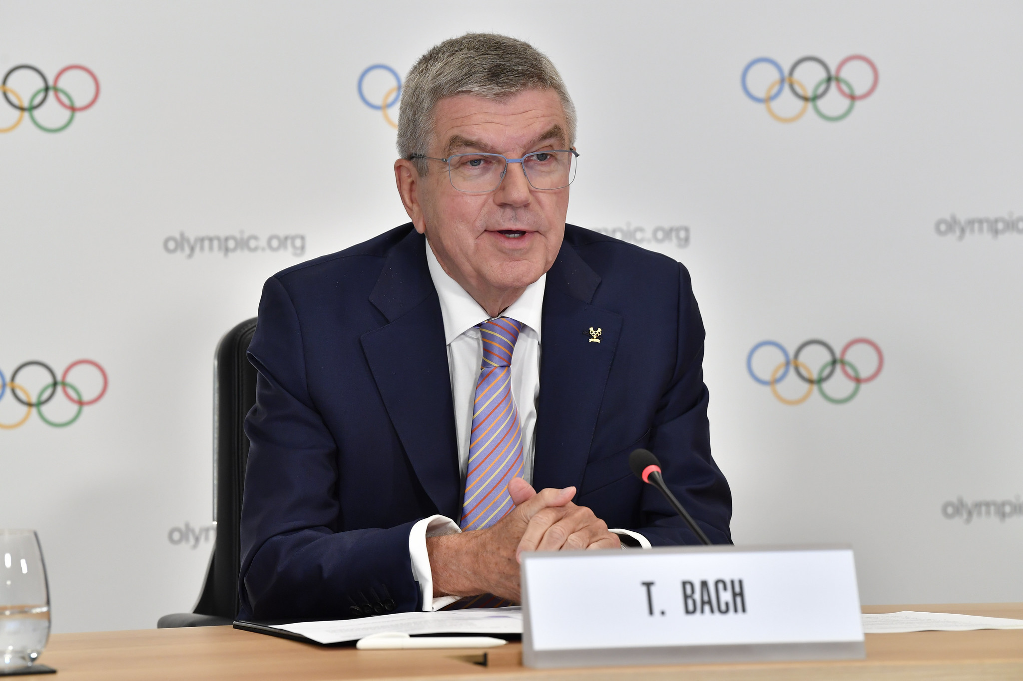 The IOC President was named the winner of the Seoul Peace Prize in September ©IOC