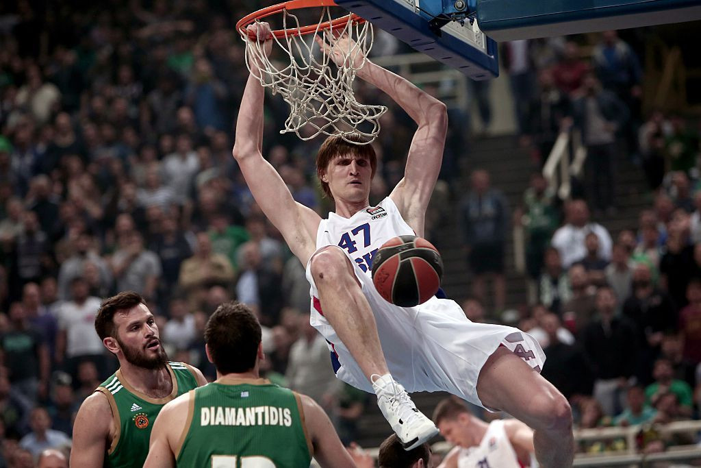Russian basketball star Andrei Kirilenko believes WADA's sanctions on the country are unfair ©Getty Images