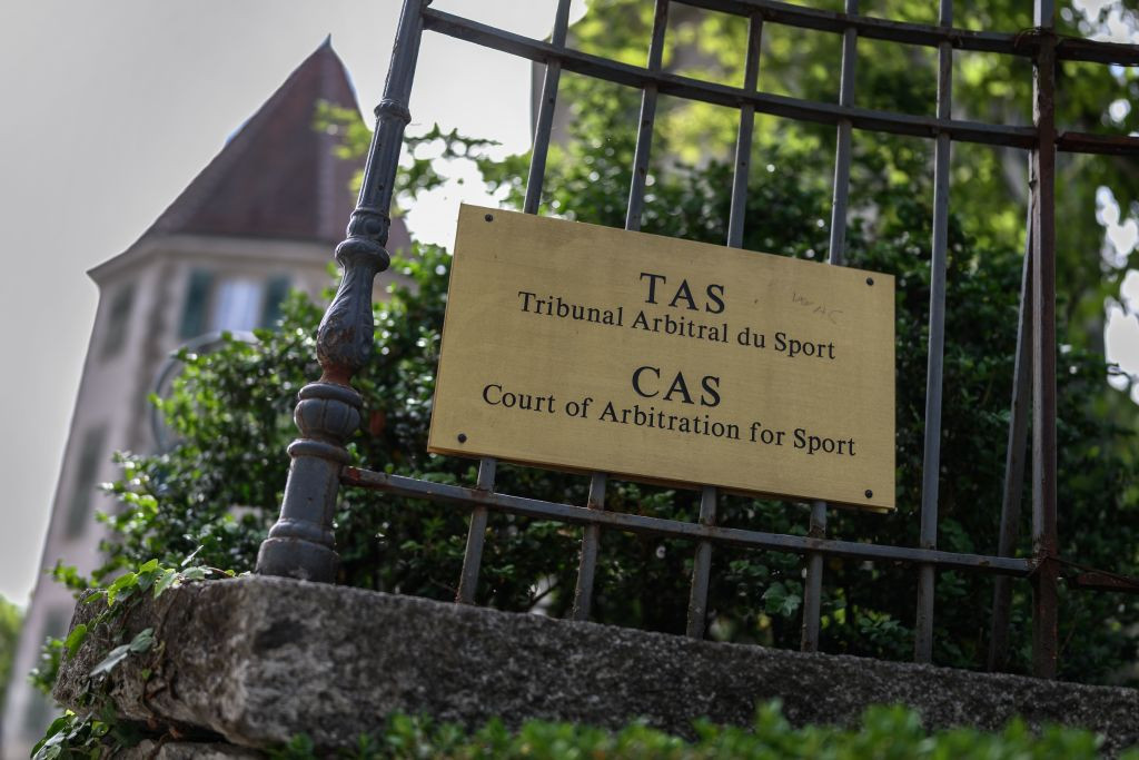 The CAS is set to hear Russia's appeal against the four-year package of sanctions next month ©Getty Images
