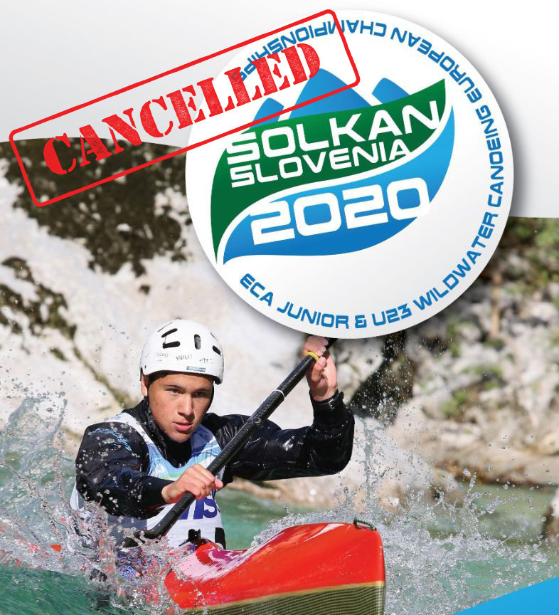 Age group Wildwater Canoeing European Championships cancelled due to COVID-19