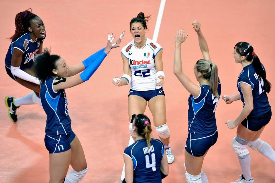 Italy survive scare to reach semi-finals of women's FIVB European Olympic Volleyball Qualification tournament