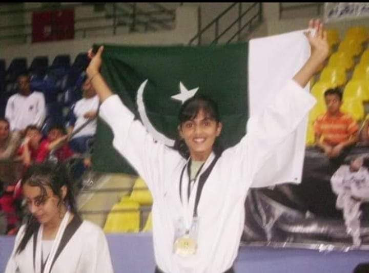 Maham Aftab, who represented Pakistan at events including the Youth Olympic Games, has passed away ©Twitter/SportsBoardPak