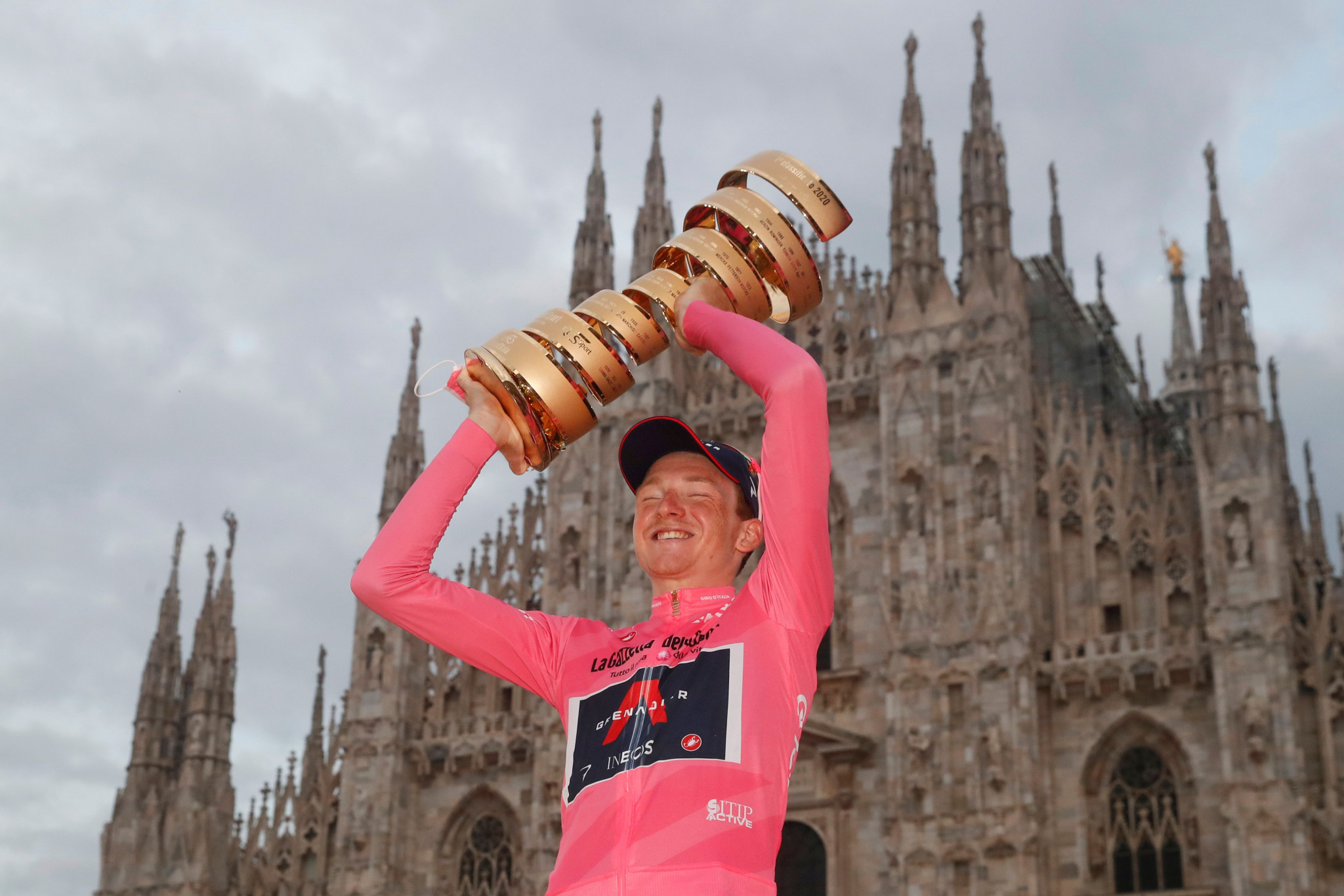 Geoghegan Hart wins Giro d'Italia after beating rival Hindley in final time trial