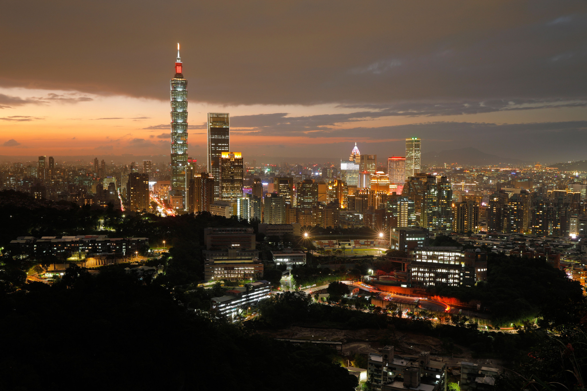 Taipei is the capital of Taiwan, and surrounded by New Taipei City ©Getty Images