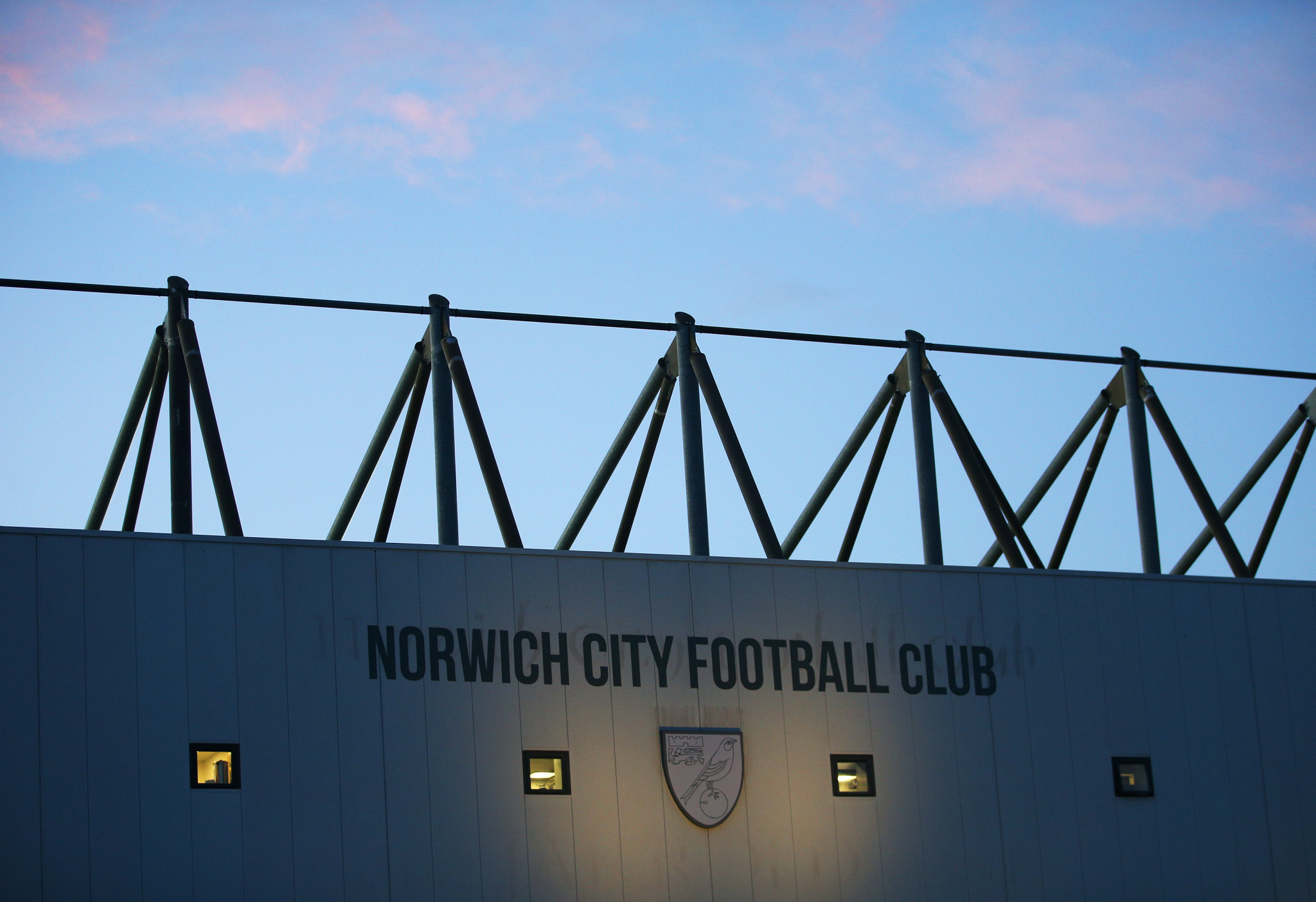 Norwich will televise matches at their ground for select fans, with the action taking place just metres away ©Getty Images