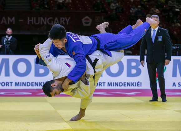 Three more Russian golds bring Budapest Grand Slam to an end