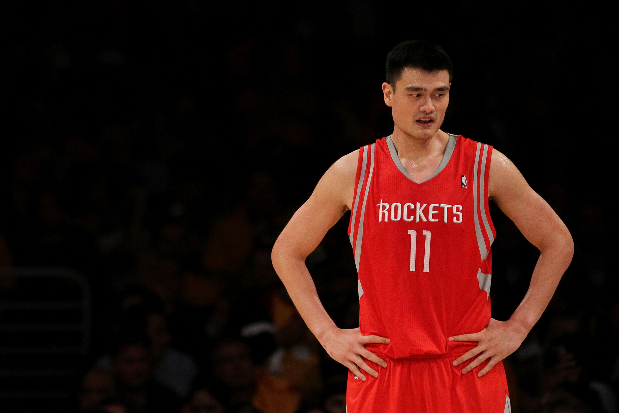 Yao Ming had a successful career in the NBA with Houston Rockets ©Getty Images