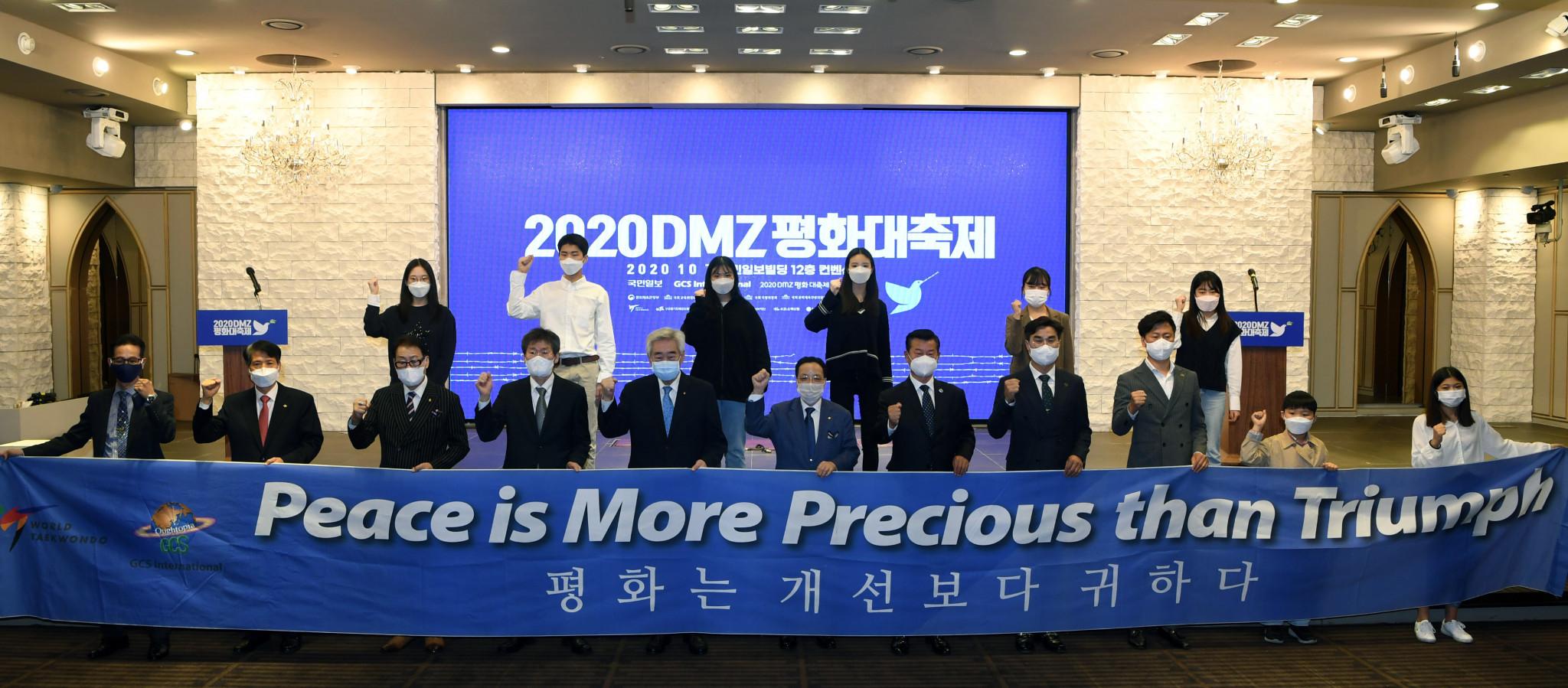 World Taekwondo President Choue attends DMZ Peace Festival