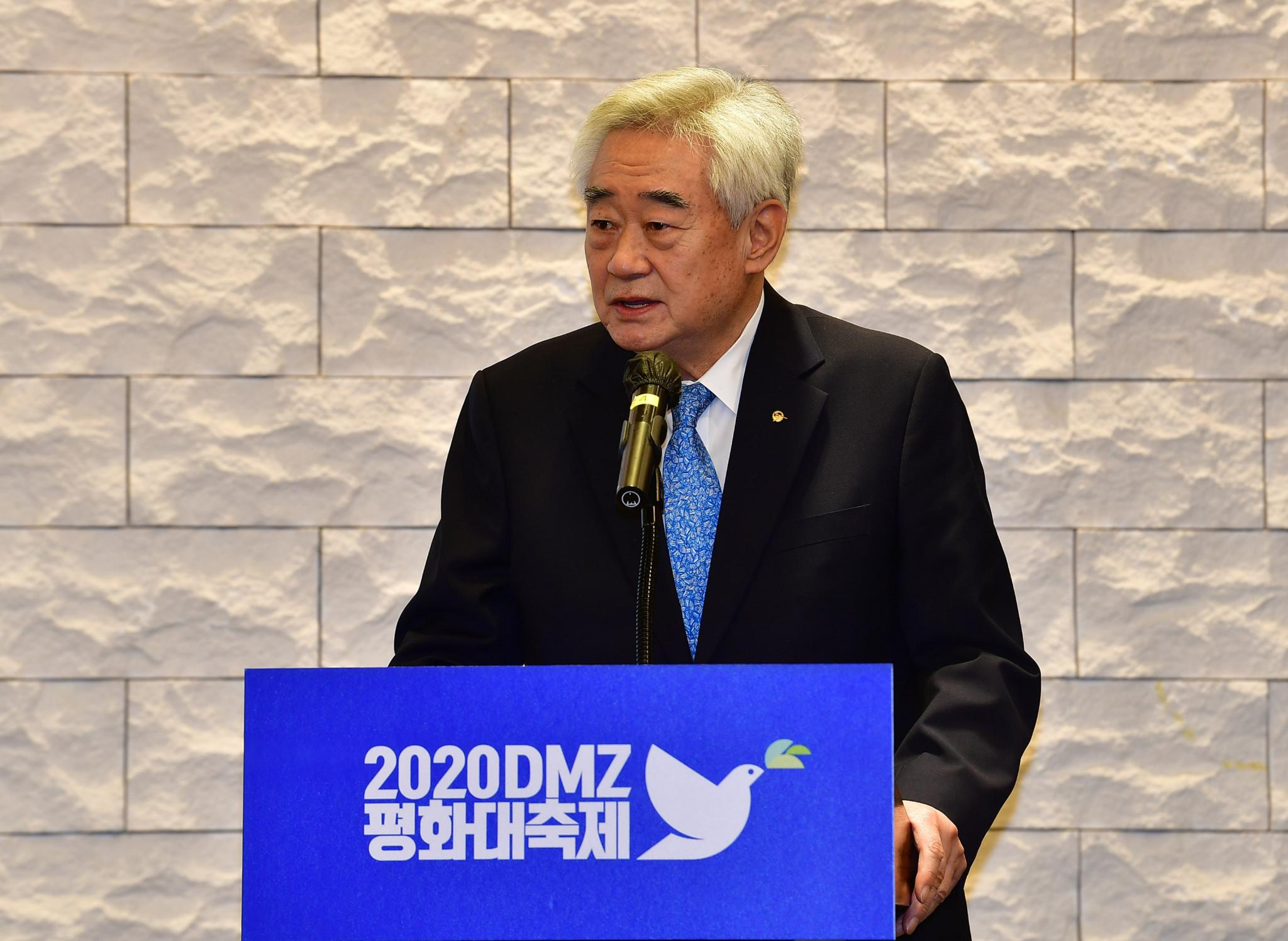 Chungwon Choue is also President of  GCS International ©World Taekwondo