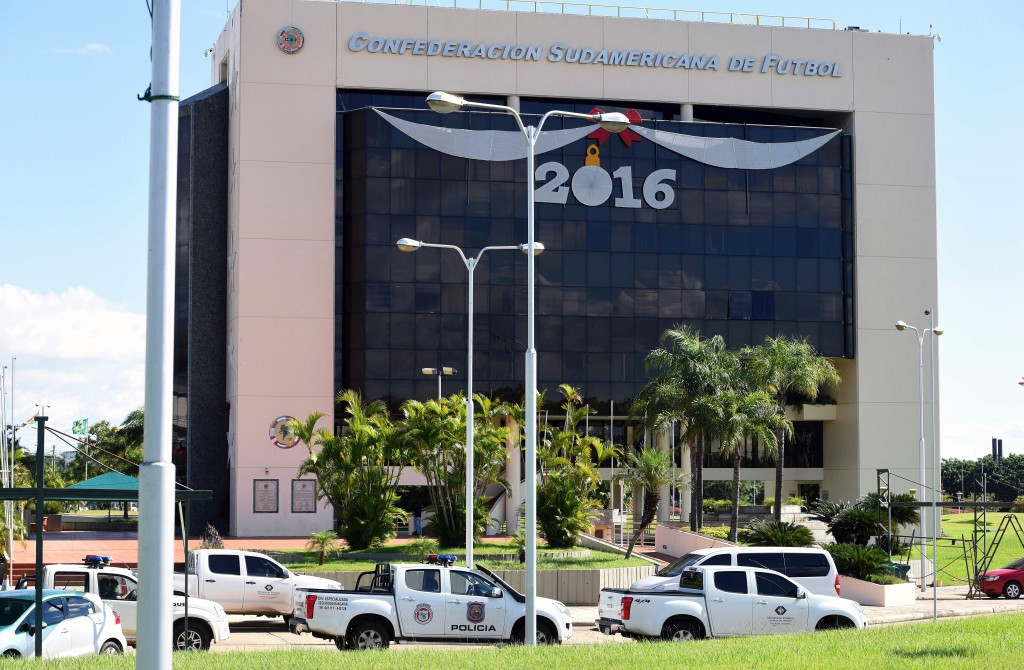 CONMEBOL headquarters raided by Paraguayan authorities as part of FIFA corruption probe